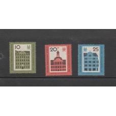 1962 Germany (East) DDR Set of 3 stamps Leipzig Spring Fair  Zum Kaffeebaum, Goh
