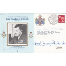 Cdr10bA MRAF Lord Douglas of Kirtleside Signed by Lady Douglas of Kirtleside