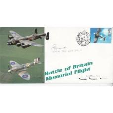 Battle of Britain Memorial Flight Les Munro  Dambuster pilot 617 Sqn. Operation