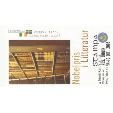 Sweden - Ireland Nobelpris i Litteratur Booklet overprinted Stampa RDS, Dublin 1