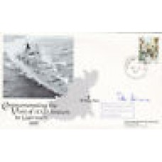 Visit of HMS Brazen to Guernsey Signed by Vice Admiral Sir Peter Ashmore