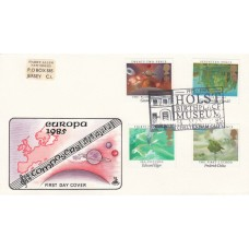 Mercury FDC  British Composers( Europa) Holst Birthplace Special Postmark