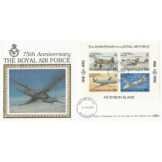 1993 Bahamas  75th Anniversary of the Royal Air Force Stamps Set of 4 Stamps