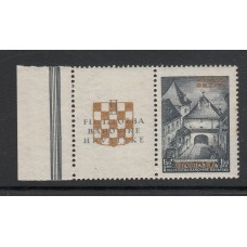 10th May 1941 - Yugoslavia Postage Stamps Overprinted in Gold - 2 stamps.UM