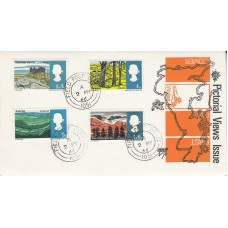 1966 Full Set British Landscapes FDC