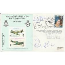 40th Anniv Battle of Britain Signed Most Reverend R A C Runcie & 2 Battle of B