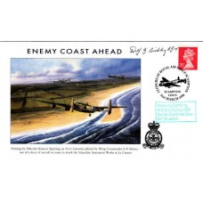 Royal Air Force Scampton Signed by W G Bickley Gunner   617 Sqn.