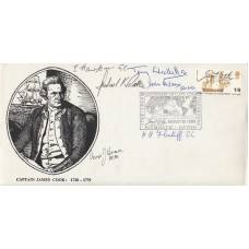 1968 Bi Centenary of Captain James Cook Signed 6  26 August 1968 Plymouth