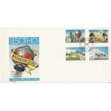 Lesotho 200th Anniversary of Manned Flight Official First Day Cover