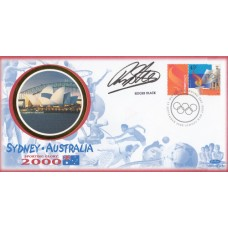 Benham Sydney Australia 2000 FDC Signed Roger Black