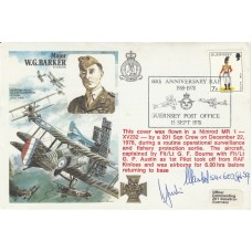 HA35c RAF Major W.G..Barker Signed FIt.Lt.Ludwik A.Martel Pilot Battle of Brita