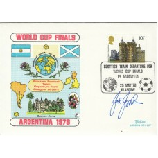 Scottish Team Departure for World Cup finals in Argentina. Signed by Joe Jordan