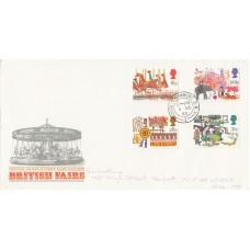 1983 British Fairs FDC Full Set House of Commons CDS Postmark