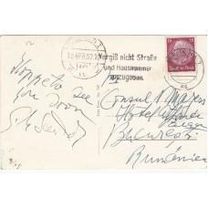 1932 Berlin Postcard with Berlin Slogan Postmark  15 Apr 32 Berlin NW7 ms Postma