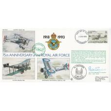 75th Anniv No 1 Sqn Air Chief Marshal Sir Peter Squire  Falklands War