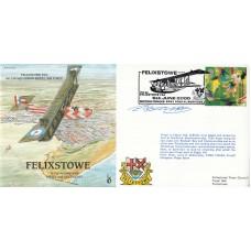 P&P23b  Felixstowe-No.230 Sqdn. Flown in Cessna Pilot Signed