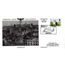 35th Anniversary Nurembery raid. Cover depict Nurnberg 1944 after the raid.