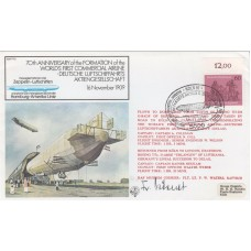 FF8a Zeppelin Signed Friedrich Korner Knight's Cross