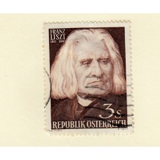 1951 Austria  Stamp 150 Years since the Death of Lanner mint  & 1956 Austria 3s