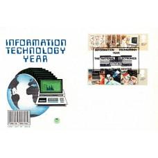 1982 FDC Information Technology Full Set Special Postmark