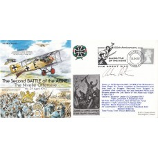 2nd Battle of the Aisne.Flown Hercules from RAF Lyneham to Decimoman Signed