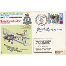 (SP)2a 605 ( County of Warwick ) Sqn Signed .J.M.Abell 605 Sqn.Flew K1146