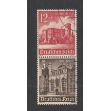 1940 Winter Relief Fund 3rd Reich 12pf+6pf , 3pf+2pf, Fine Used