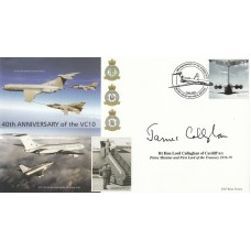 40th Anniv of the VC10.Signed Rt Hon Lord Callaghan of Cardiff Prime Minister