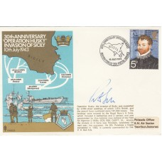 30th Anniversary of Operation Jusky  Invasion of Sicily  HMS Penelope Signed