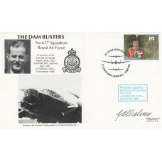 Dam Busters Cover Signed G A Chalmers W/Op /Air gunner  Dams Raid,17 May 43