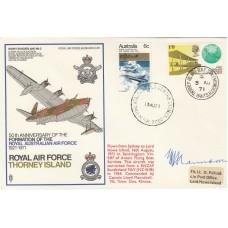 SC35cB RAF Thorney Island  Signed by Sunderland Pilot Captain Lloyd Maundrell
